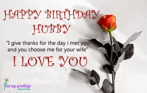 Birthday Wishes Husband Images