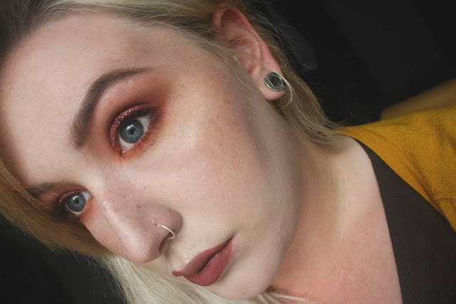 Burnt Orange Smokey Eye || Makeup Look