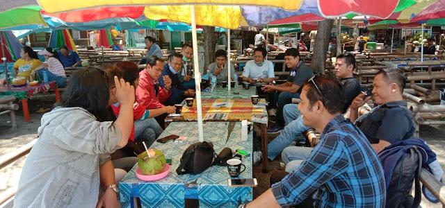 Acara Kopdar Jurnalis  Sukabumi Ngahiji Di Palabuanratu