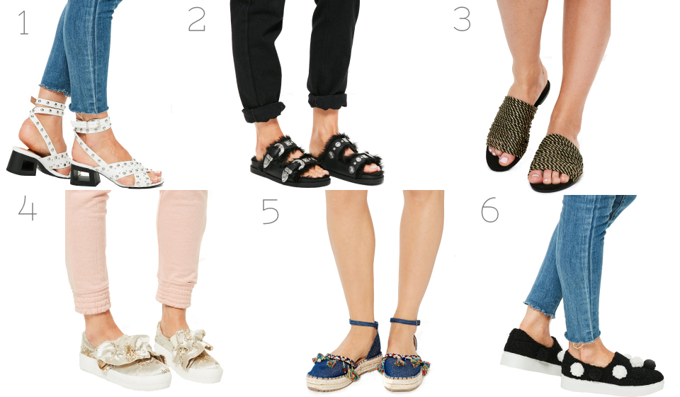 Missguided, shoes, affordable shoes, womenswear, footwear, sandals, sneakers