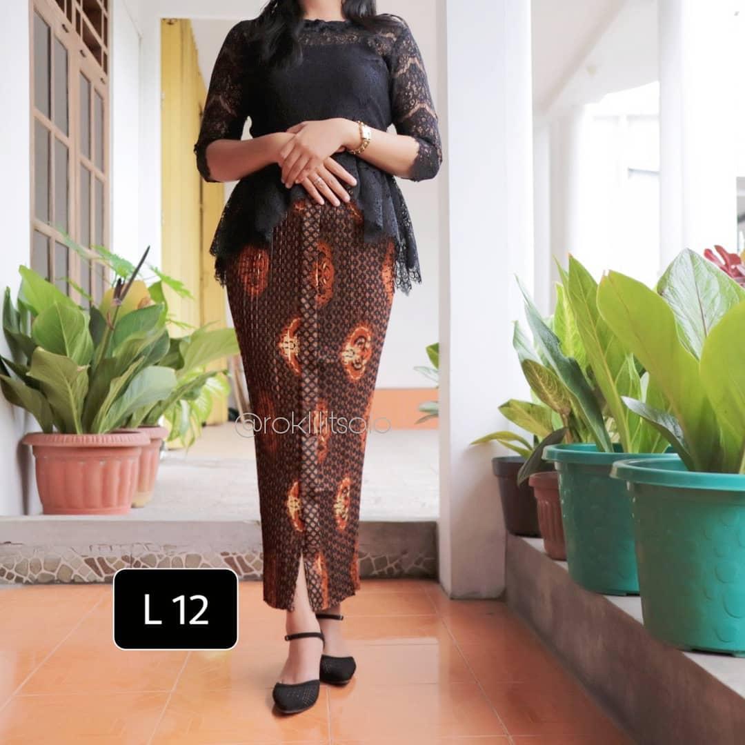 Model Rok Batik