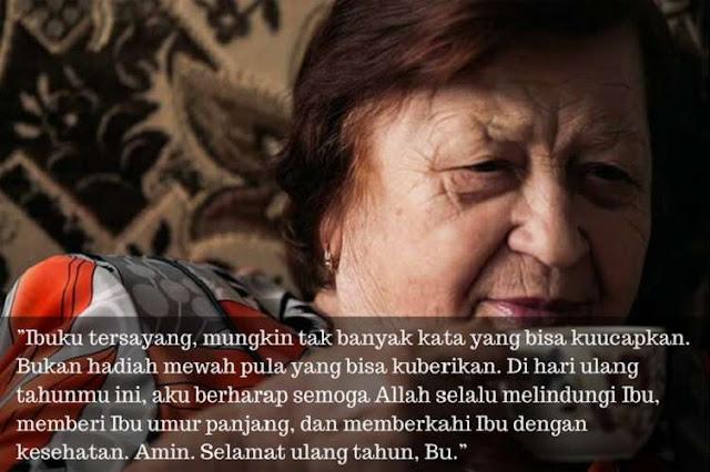 Ibu merupakan orang tua berjenis kelamin perempuan Kumpulan Kata-Kata Ucapan Selamat Ulang Tahun untuk Mama [+ Puisi, Doa & Gambar]