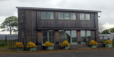 The prototype Ty Solar (Ty is Welsh for House so the name means Solar House in English) in West Wales.