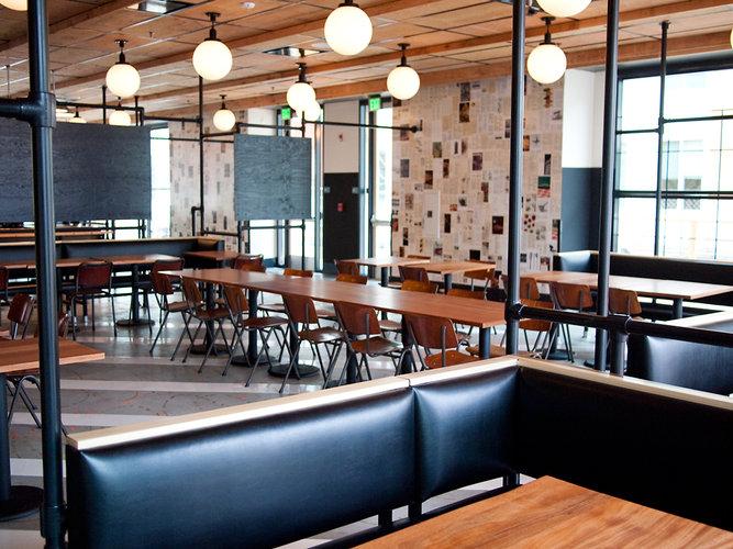 Lynne Door Design: The coolest corporate cafeteria