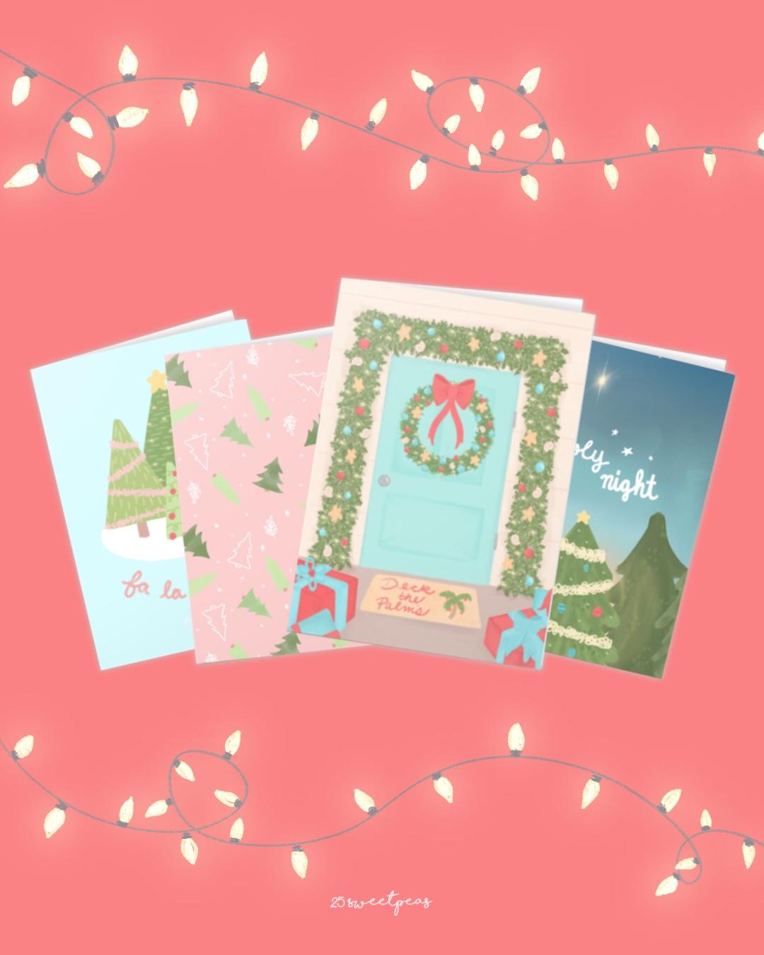 25 Sweetpeas Christmas Card Release 2020