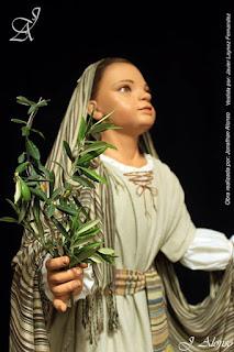Nueva imagen de una niña hebrea para la Borriquita de Rota