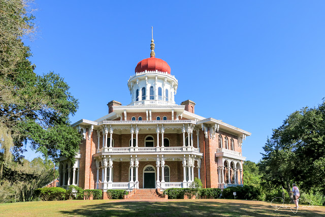 Longwood, the largest octagonal house in the U.S., rests in Natchez.