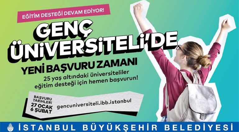 İstanbul Büyükşehir Belediyesi Genç Üniversiteli eğitim yardımı başvuruları yeniden başladı. Detaylar kariyeristanbul.net'te!