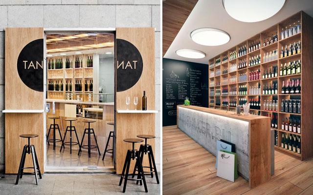 Marzua el dise o interior en las vinotecas gusto y estilo - Decoracion de vinotecas ...