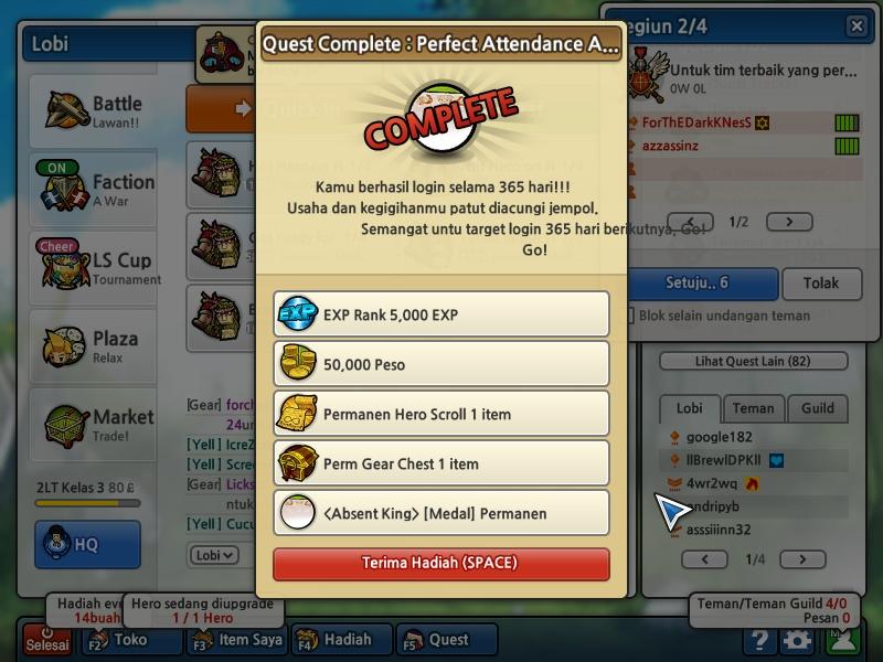 Download Cheat Lost Saga Peso 14