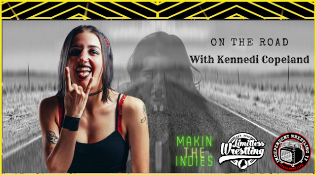 Indie Wrestling Wire: #OnTheRoad w/Kennedi & Dennis - Pilot Episode