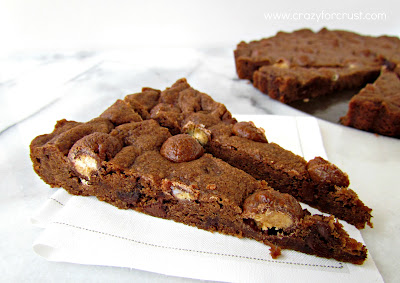 Chocolate Malted Shortbread - Crazy for Crust