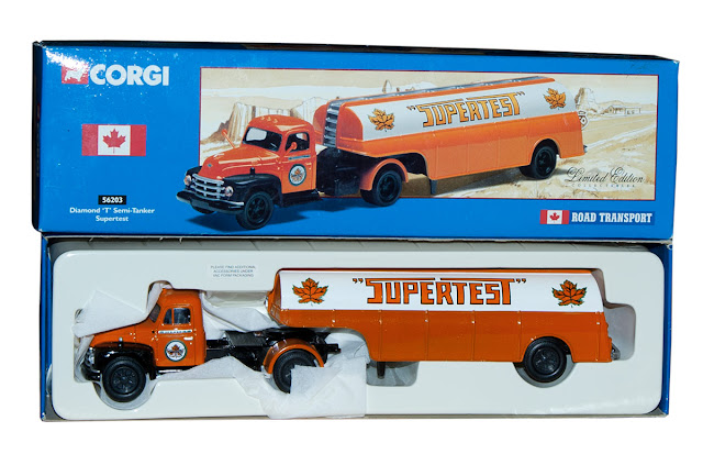 A collectible Supertest truck from Corgi.