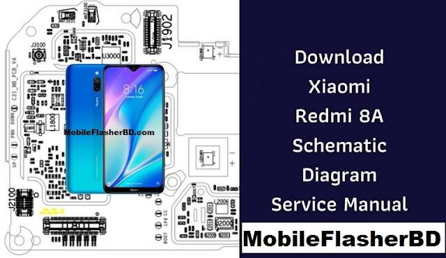 Download Xiaomi Redmi 8a Schematic Diagram Full Pdf Pack