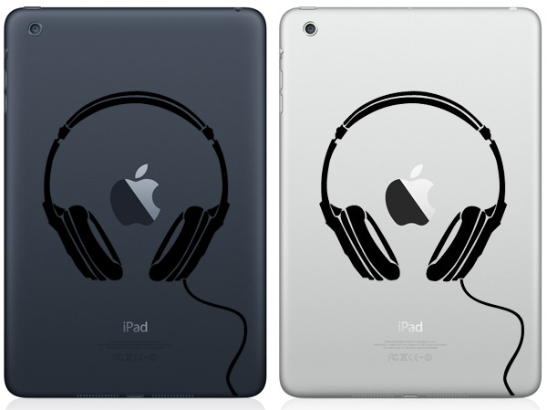 Headphones iPad Mini Decals