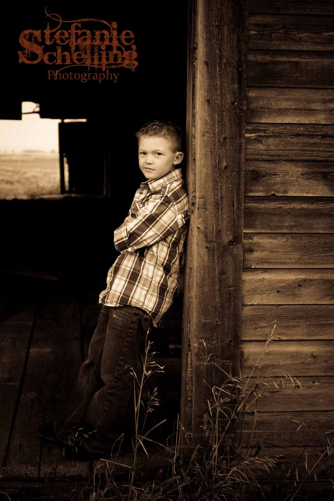 Stefanie Schelling Photography Family Photos At The Barn