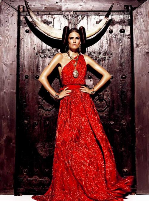 Maravillosos outfits de moda | Colección en Rojo