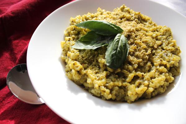 Vegan Pesto Rice
