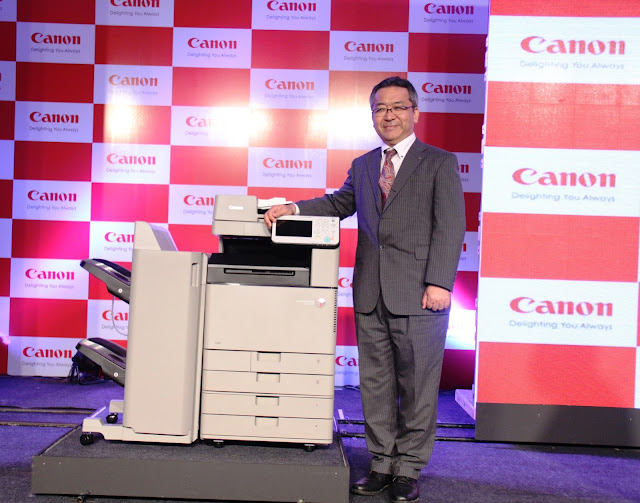 Canon India envision fostering the spirit of entrepreneurship in the country by launching A3 and A4 colour Multi-Function Devices (MFDs)