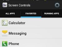 Screen Controls, Atur Tingkat  Kecerahan Layar untuk Masing-masing Aplikasi