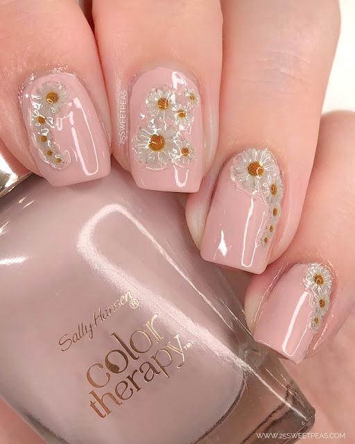 Sally Hansen Flower Power 25 Sweetpeas