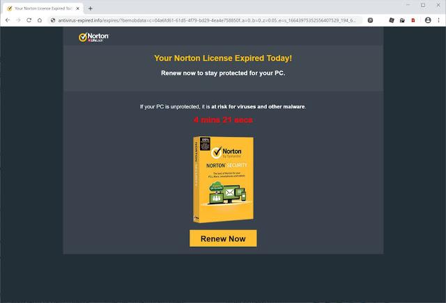 redirecciones a Antivirus-expired.info