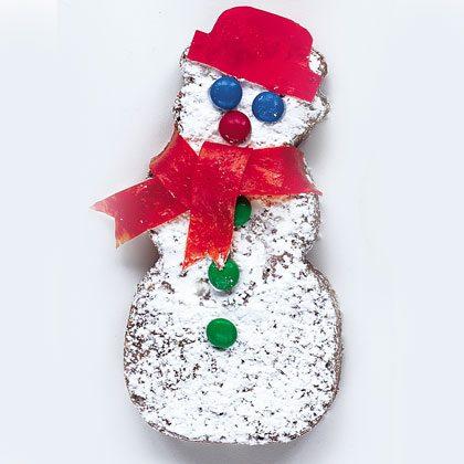 Brownie Snowmen
