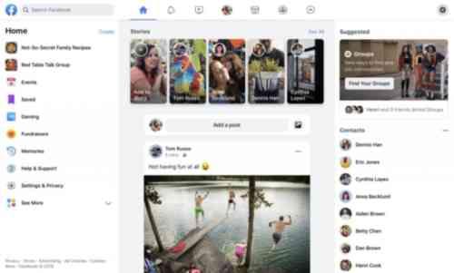Nuevo Diseño Facebook 2019 - MasFB