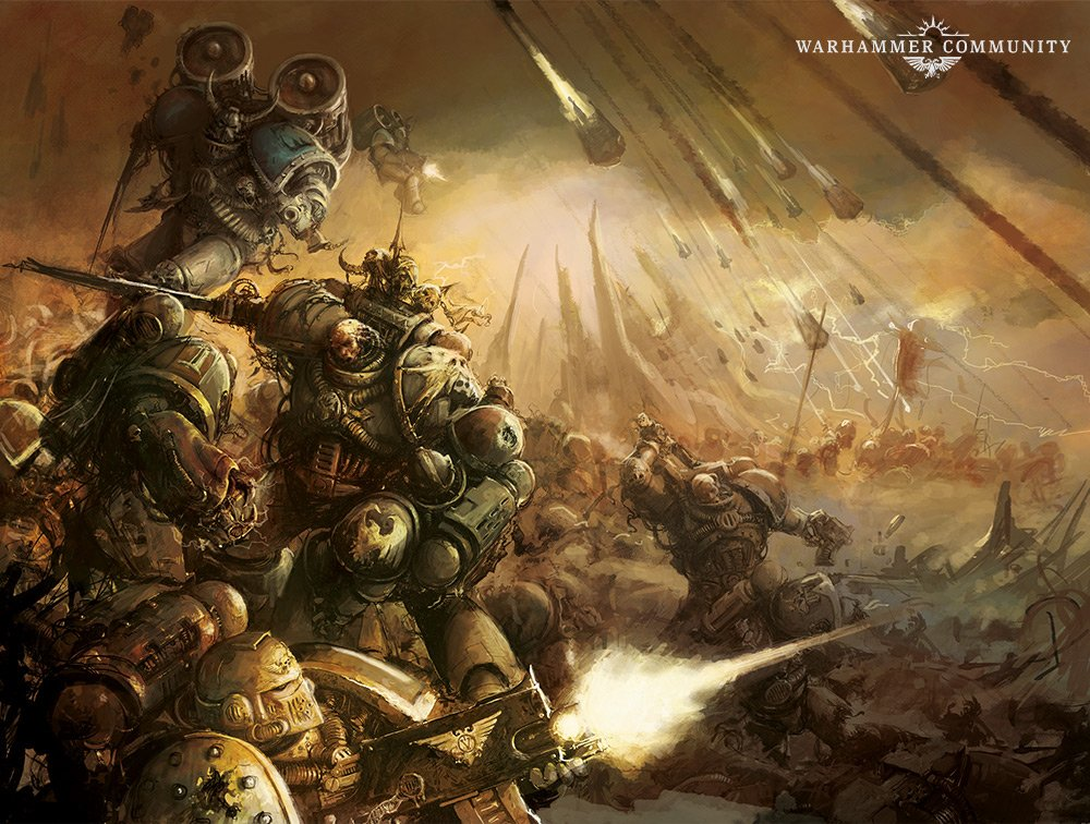 Destroyer Squads Return to the Horus Heresy