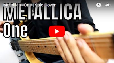 metallica one guitar solo kirk hammett
