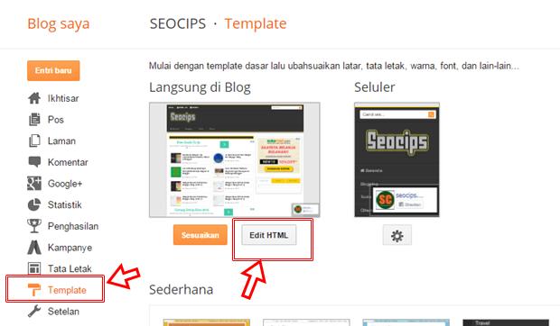 Cara Menonaktifkan Widget Blog di Tampilan Mobile Terbaru