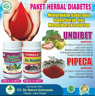 Obat kencing manis dari de nature, herbal alami, manjur dan aman