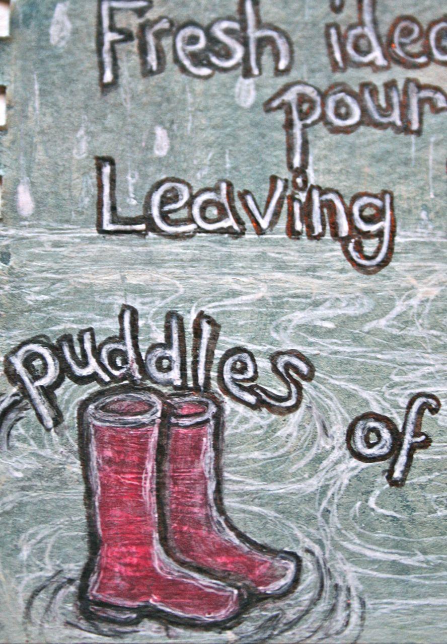 Romantic Quotes Wallpaper For Facebook Rain Puddles Quotes Quotesgram