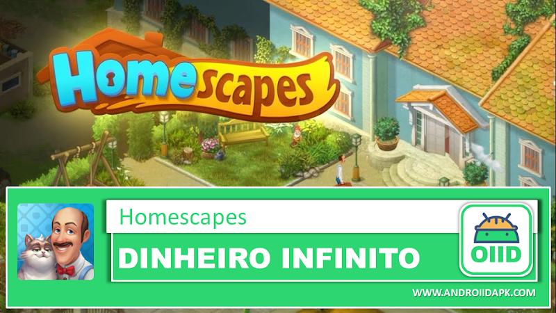 Homescapes v2.8.1.900  – APK MOD HACK – Dinheiro Infinito