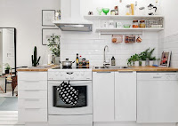 Scandinavian kitchen neat decorating ideas for small space