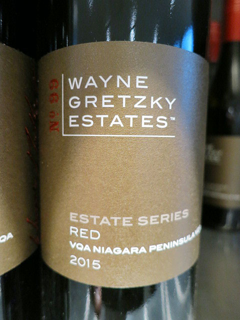 Wayne Gretzky Estates Series Red 2015 (88 pts)