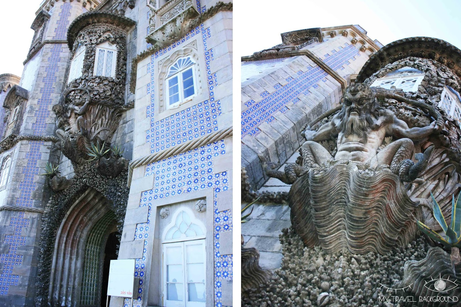 My Travel Background : Escale à Sintra, au Portugal - Le Palais de Pena
