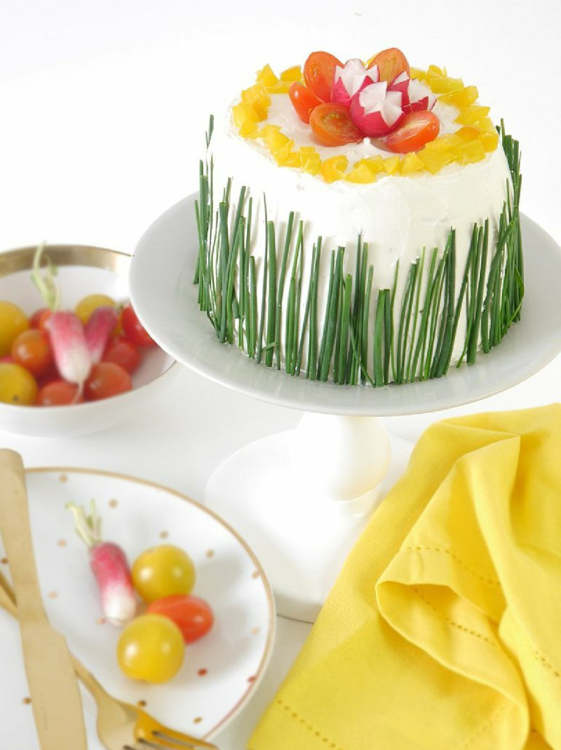 No-Bake Savory Brunch Cake Recipe