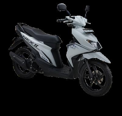 Ukuran Roller Standar Suzuki Nex II