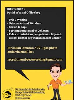 Lowongan Kerja PT. Rumah Lebah Indonesia