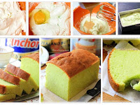Resep Pandan Cake Hanya 5 Bahan. Bisa Lembut Wangi dan Enak!