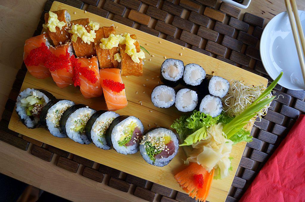 sushi-widok-z-gory