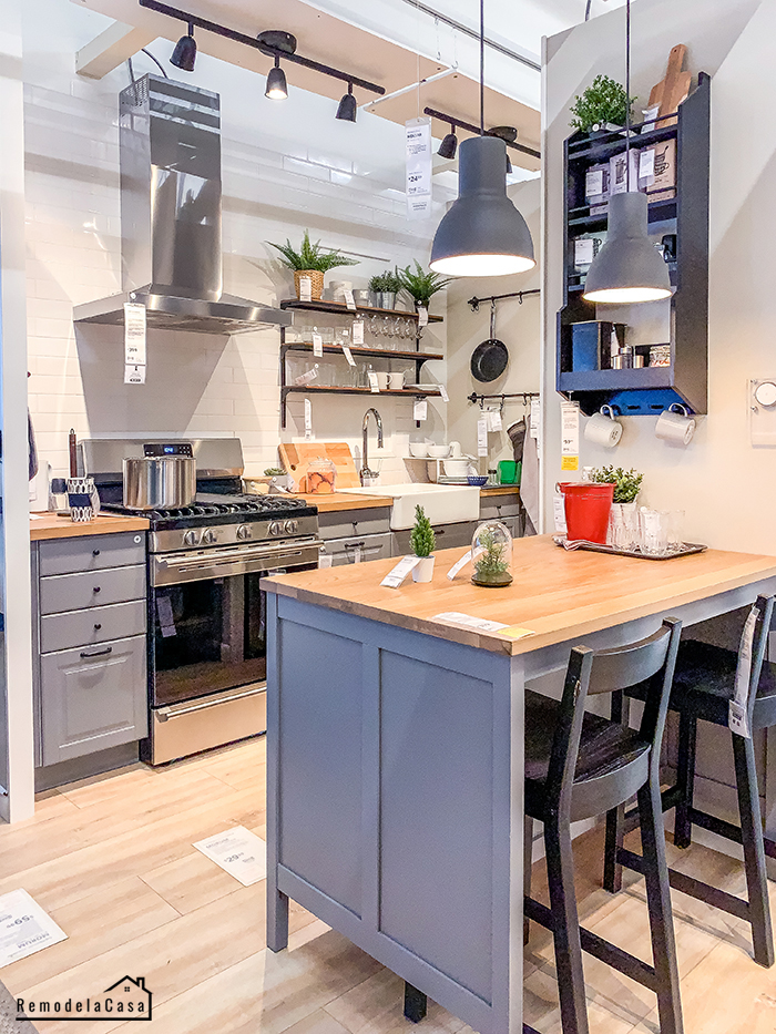 Ikea small apartment kitchen