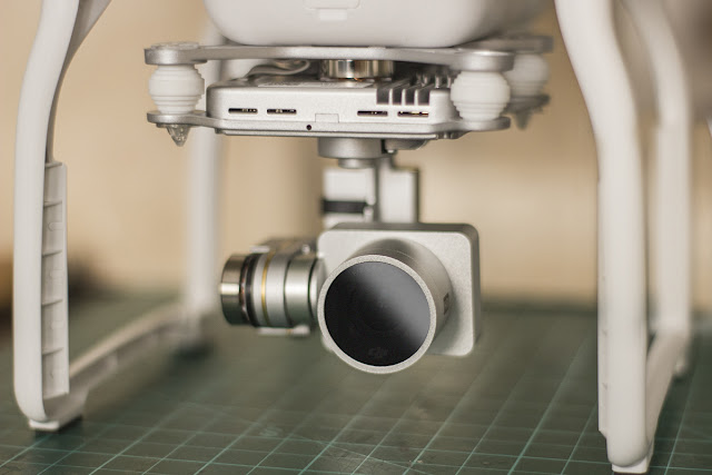 DJI Phantom ND filter mount