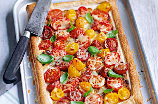 Tomato and Mustard Tart Recipe