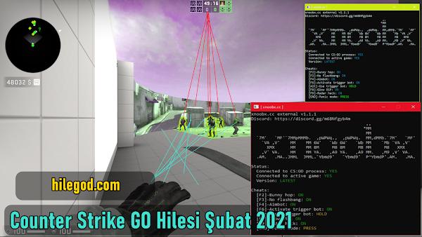 Counter Strike GO xnoobx.cc Hile Glow Esp, Rage, Aimbot, BunnyHop++ 2021 Şubat Güncel