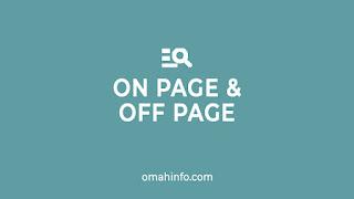 Optimasi SEO On Page dan Off Page Konten