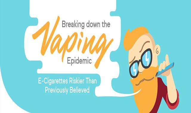 Breaking Down the Vaping Epidemic #infographic