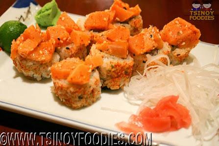 super salmon maki