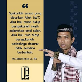 Syukurilah Semua Yang Diberikan Allah - Qoutes - Kajian Islam Tarakan